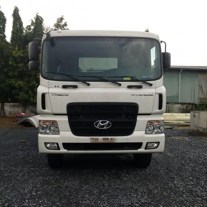 Ben Hyundai HD270 máy cơ 6x4 ben 15 tấn