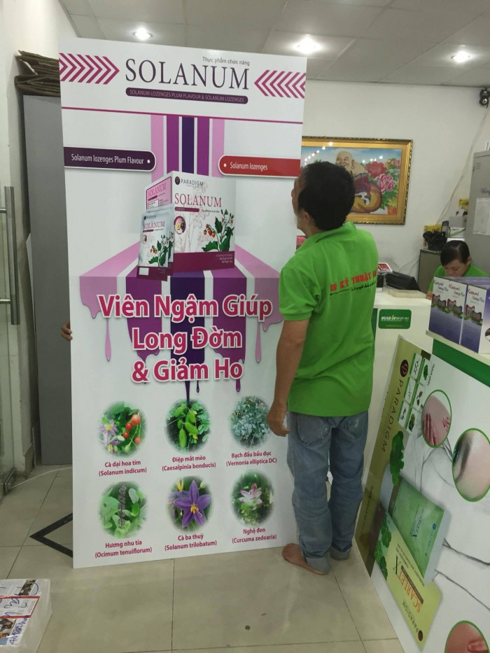 In UV PP, in PP cao cấp | Poster quảng cáo, decal dán, Standee loại hình cao cấp