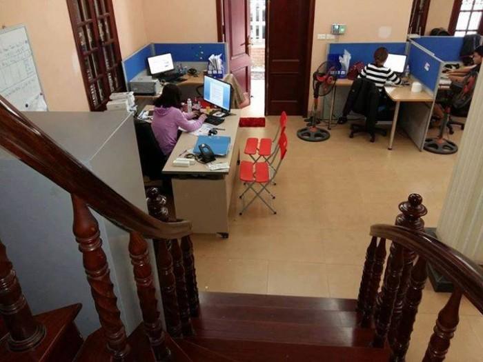 CHo thuê biệt thự tại Linh Đàm;Hoàng Mai;Dt 80m2x4T;giá 35Tr