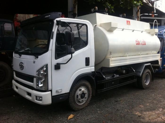 Xe bồn xăng dầu 8 khối giao ngay 2016