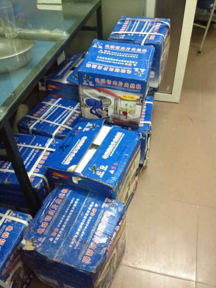 Máy thái thịt bò tươi sống SS70 giá rẻ, khách hàng tha hồ lựa chọn
