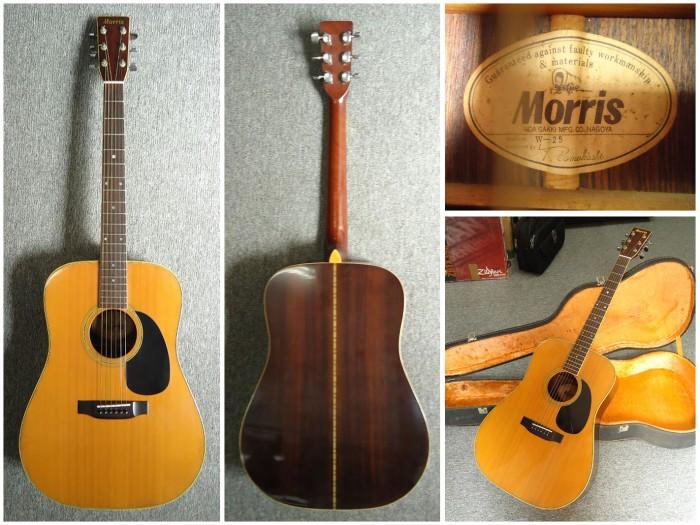 Đàn Guitar Acoustic Morris W-25