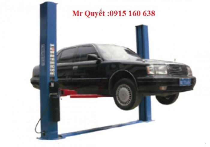 Giàn nâng 2 trụ  sửa chữa ô tô giá rẻ