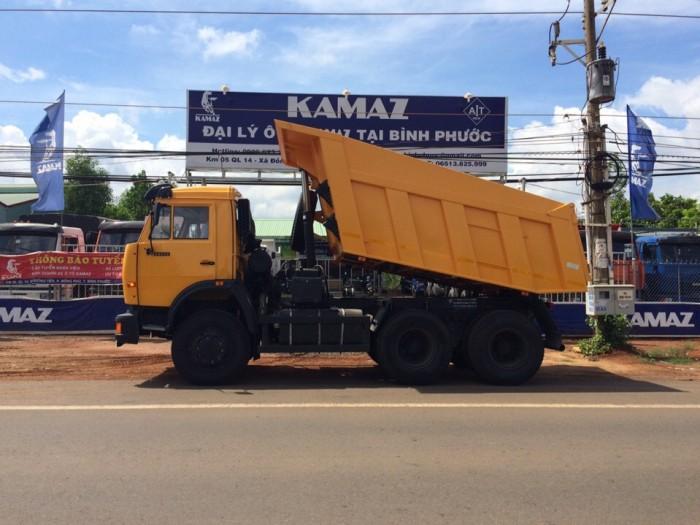 Xe ben Kamaz 15 tấn, Kamaz 65115 mới 2016