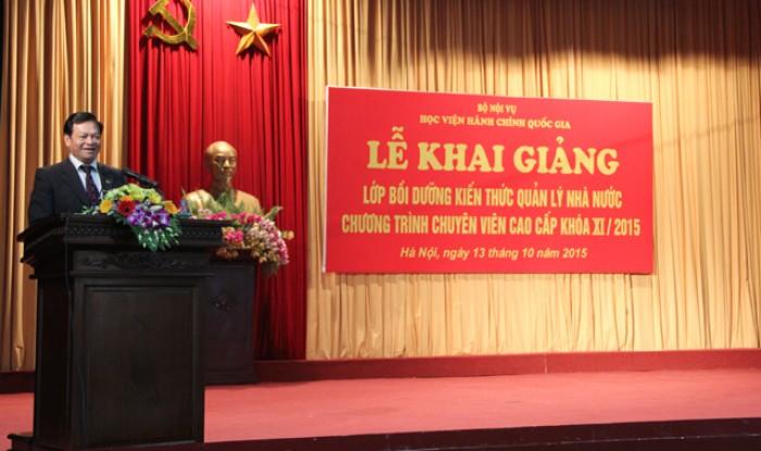 Khai giảng lớp quản lý ngạch chuyên viên Lh:Ms. Dung