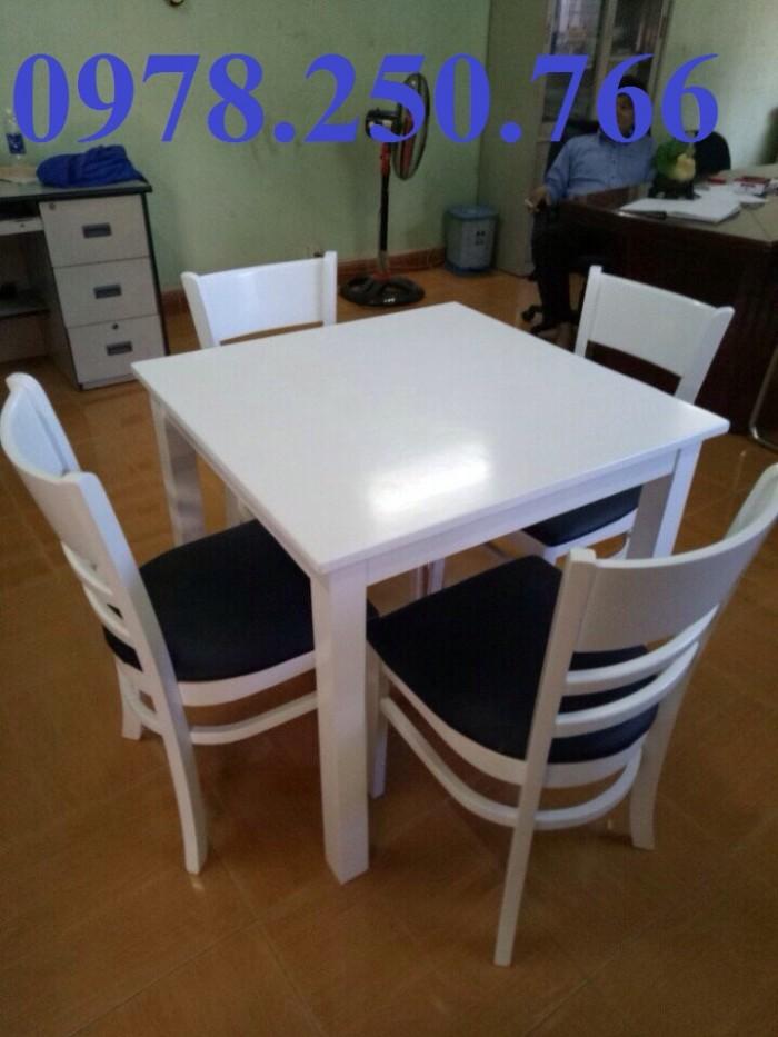 bàn ăn gỗ màu trắng quận 7, bàn ăn 4 ghế quận 2, bàn ăn gỗ cao su quận 3, bàn ăn gỗ đẹp quận 95