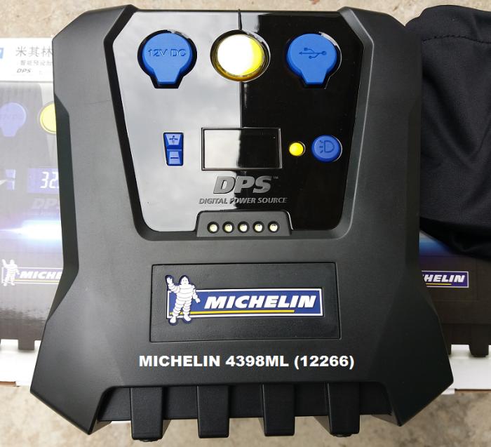 Máy Bơm Lốp ô tô  Tự ngắt 12V MICHELIN 12266 - MSN388062