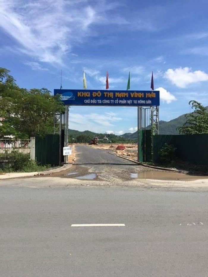 Còn 1 vài lô đất nền dự án KĐT Nam Vĩnh Hải giá tốt
