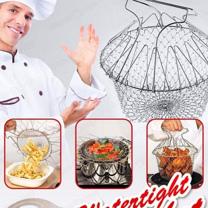 Rổ Đựng Thực Phẩm Thông Minh Chef Basket Inox