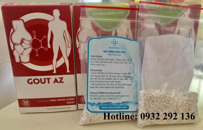 Gout AZ giảm đau nhức khớp do gout