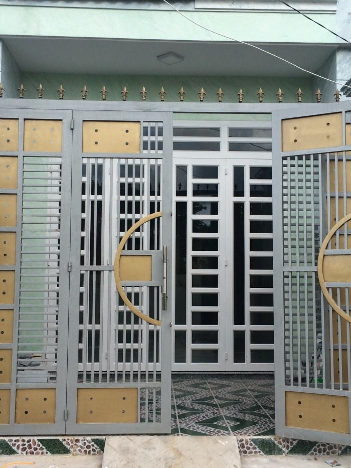 Bán nhà phố mới xây 4x13 đường Quách Điêu vị trí bao đẹp khu nhà sầm uất