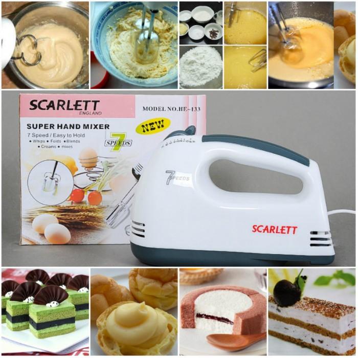 Máy Đánh Trứng Cầm Tay Scarlett HE133