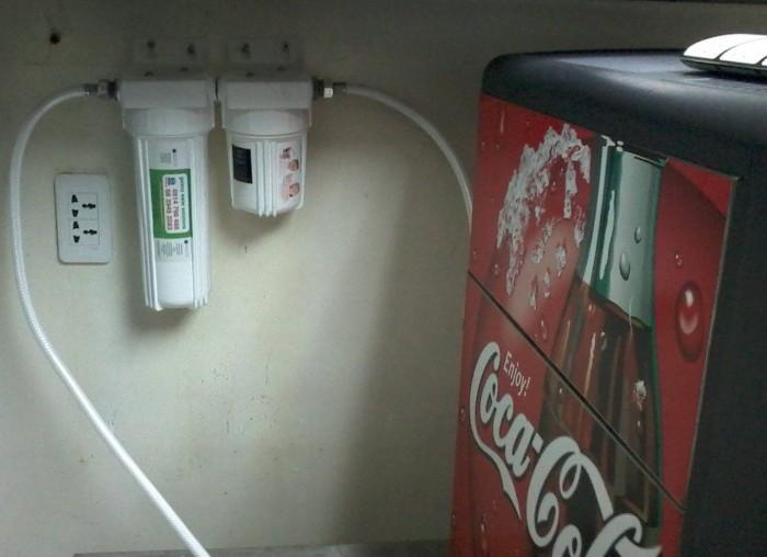 Hệ thống lọc nước nâng ph cho cafe lên tới 8 hoặc 9.
