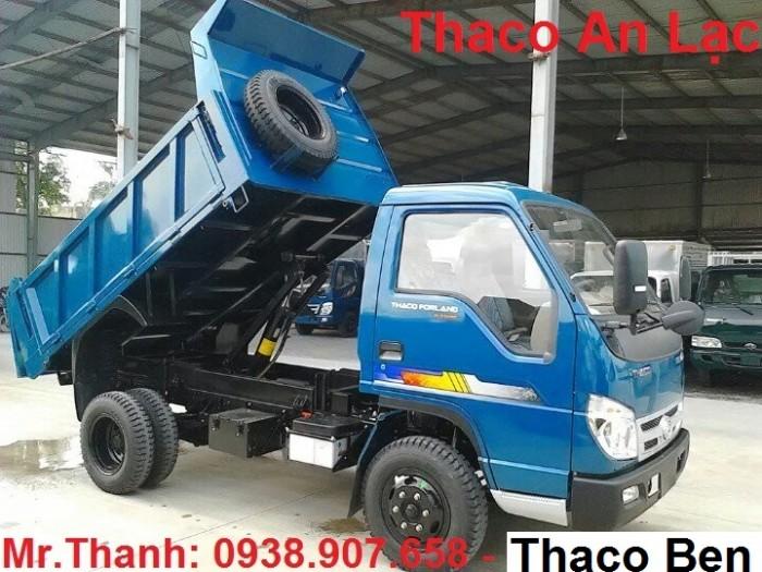 Xe Ben Thaco 2.5T, Xe Ben Forland FLD250C, xe ben tại Tp. HCM