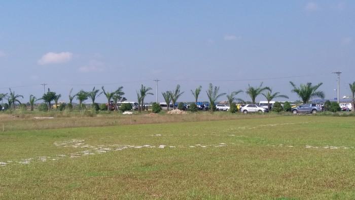Cần sang gấp lô đất xây phòng trọ ngay cổng KCN, thu nhập 15 tr/tháng, giá 420 tr.