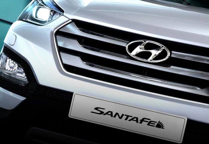 Hyundai Santa Fe Số tự động Động cơ Xăng