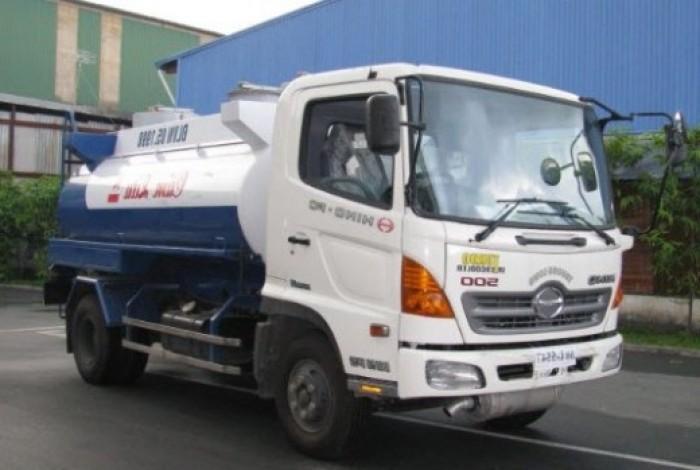 Hino FM8JNSA 6x4 bồn chở Xăng dầu 18 khối rẻ nhất miền Nam.