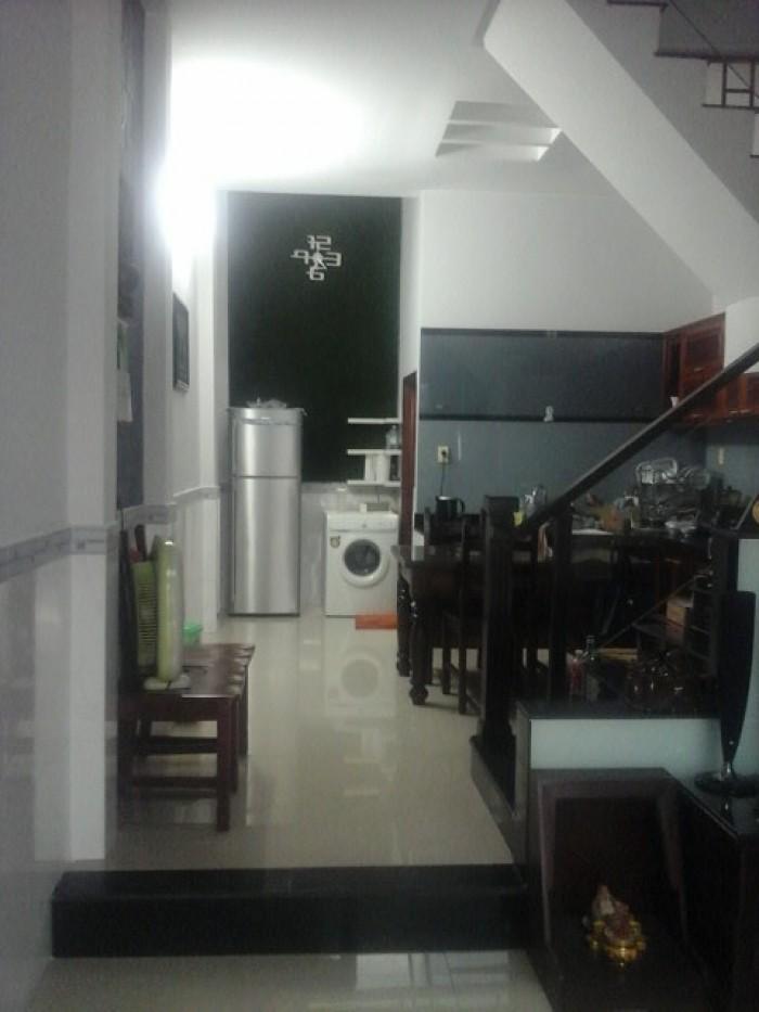 Bán căn nhà  1 trệt,  2lầu, nhà mới đẹp đường số 48, phường Hiệp Bình Chánh