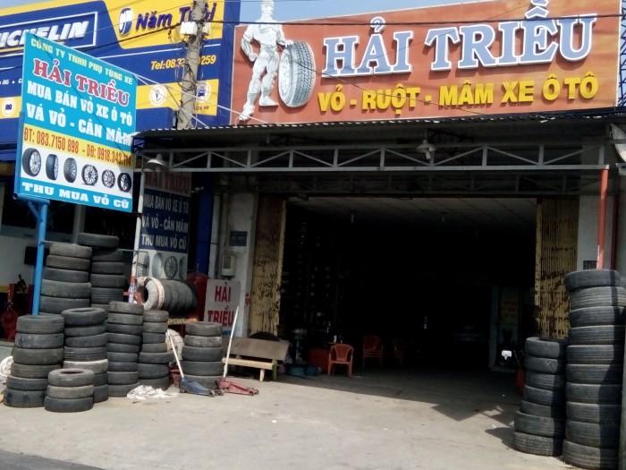Chuyên mua bán vỏ xe,lốp xe ôtô cũ,từ 70%---95% các loại nội ngoại nhập