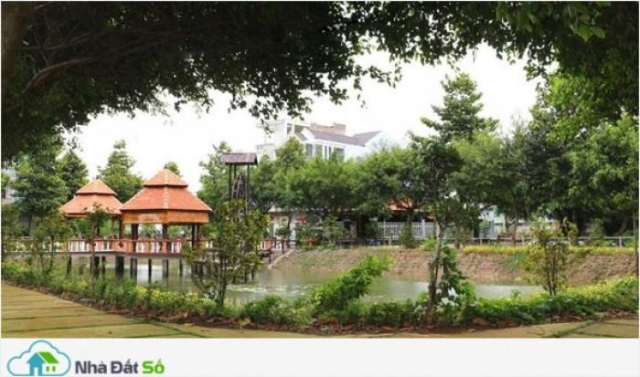 Mở bán Khu phố kinh doanh đa năng, 4 mặt tiền đường trung tâm KĐT Ven sông Vàm Cỏ