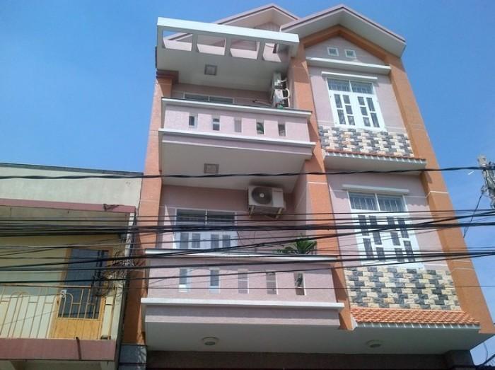 Nhà 1 trệt, 2 lầu, có sân thượng đúc kiên cố thuộc dự án HUD,Nhơn Trạch,ĐN