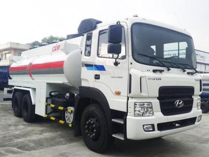 Đại lý HuynDai - Xe bồn Hyundai 18 khối chở xăng dầu HD260 giá rẻ.