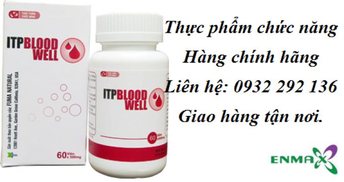ITP Bloodwell hỗ trợ điều trị sốt xuất huyết giảm tiểu cầu