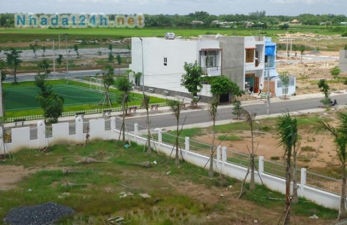 Mở bán đất nằm sau khu công nghiệp tân phú trung