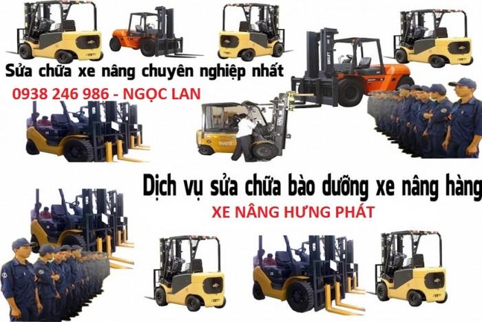 Sửa chữa xe nâng toàn quốc Liên hệ xe nâng Hưng Phát
