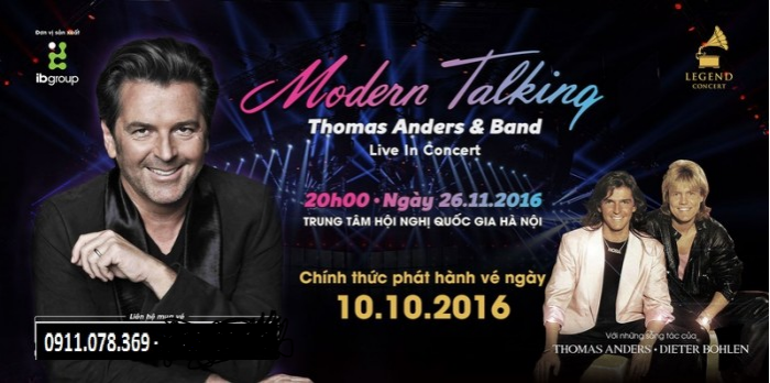 Mordern Talking FT Thomas Anders Live in concert