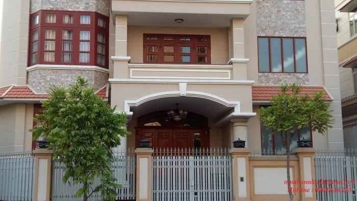 HOT..! Mua biệt thự Him Lam Kênh Tẻ rẻ hơn mua đất, DT:20x20m, góc 2 mặt tiền đối diện hồ sinh thái