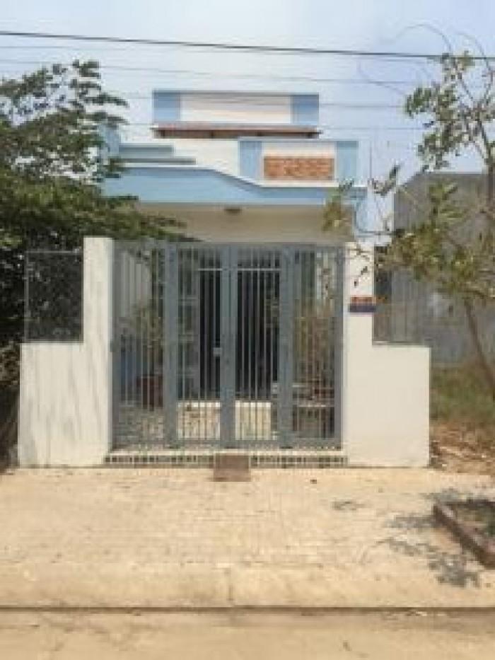 Bán nhà mới xây Phan Văn Hớn, Hóc Môn, 1 lầu,670tr/ 100m2  sổ hồng riêng