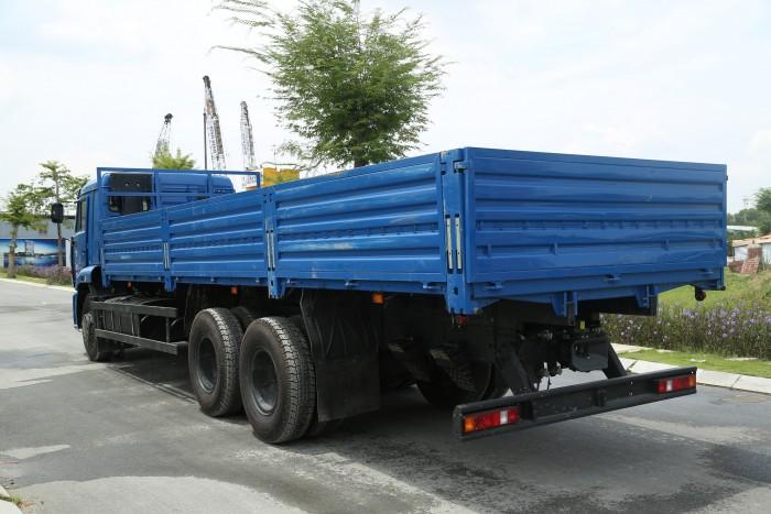 Bán xe tải thùng Kamaz 65117 đã qua sử dụng 2015 (40.000km), bán xe tải thùng Kamaz cũ