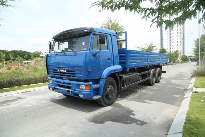 Bán xe tải thùng Kamaz 65117 đã qua sử dụng 2015 (40.000km), bán xe tải thùng Kamaz cũ 1