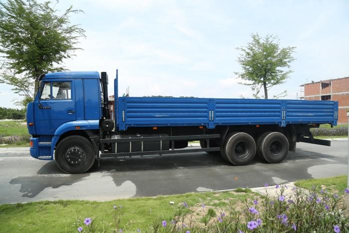 Bán xe tải thùng Kamaz 65117 đã qua sử dụng 2015 (40.000km), bán xe tải thùng Kamaz cũ 2