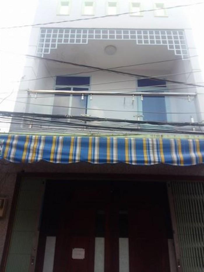 Bán nhà Lô Tư quận Bình Tân xe hơi vào tận nhà