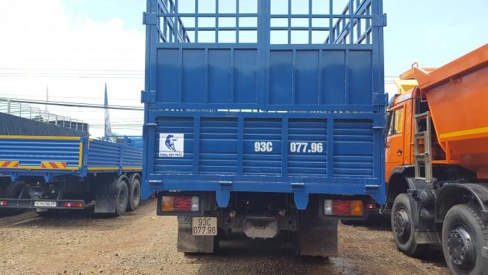 Bán xe tải Kamaz cũ, Bán 01 xe tải thùng Kamaz đã qua sử dụng 2015 (~40.000km)