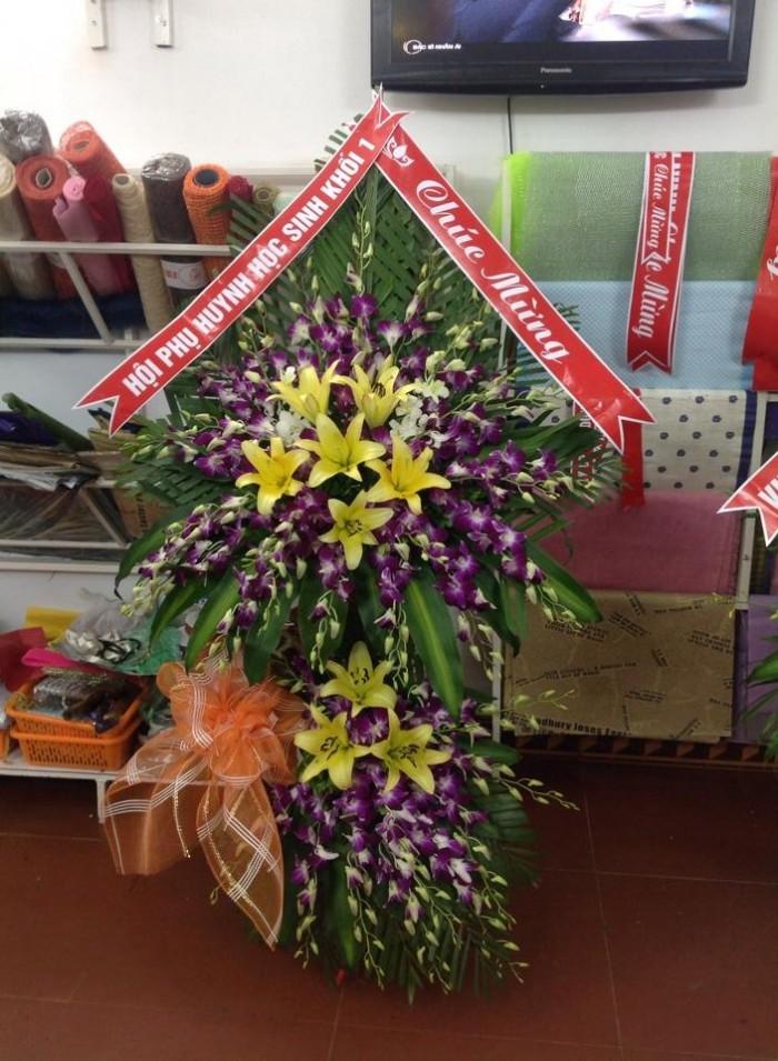 Cửa hàng bán điện hoa bỉm sơn, shop hoa tươi bỉm sơn giao hoa tươi tận nơi. Đặt điện hoa chúc mừng sinh nhật, khai trương, hoa tang lễ tại bỉm sơn9