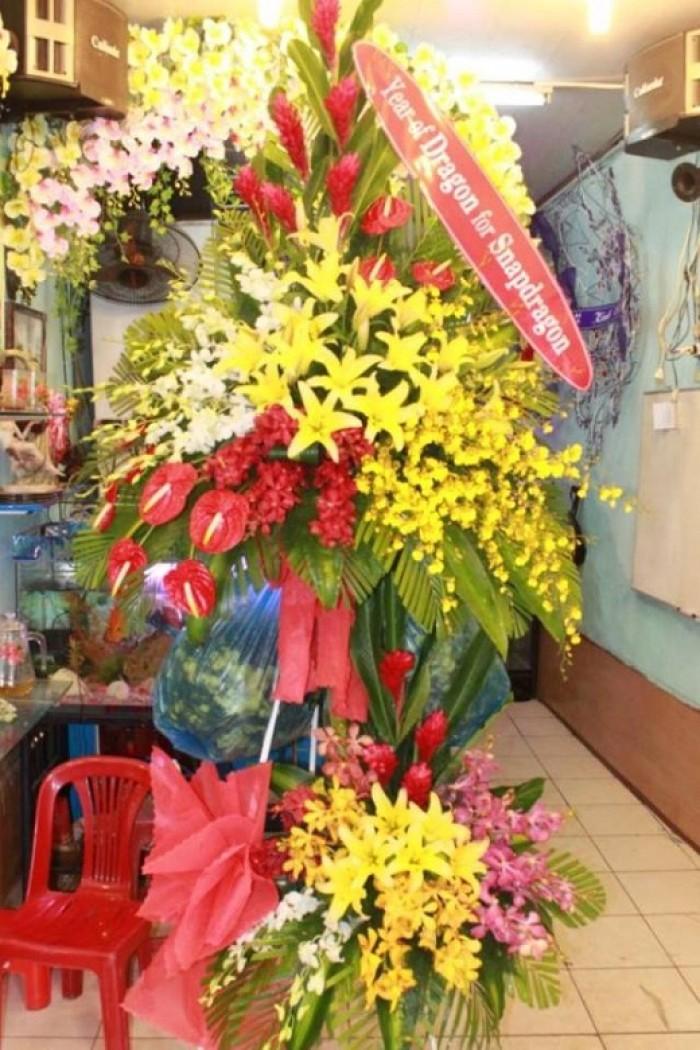 Cửa hàng bán điện hoa bỉm sơn, shop hoa tươi bỉm sơn giao hoa tươi tận nơi. Đặt điện hoa chúc mừng sinh nhật, khai trương, hoa tang lễ tại bỉm sơn15