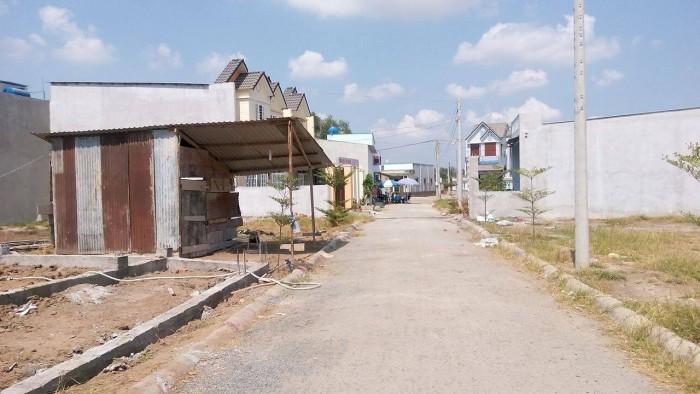 Bán đất nền Bình Chánh thổ cư mặt tiền đường SHR
