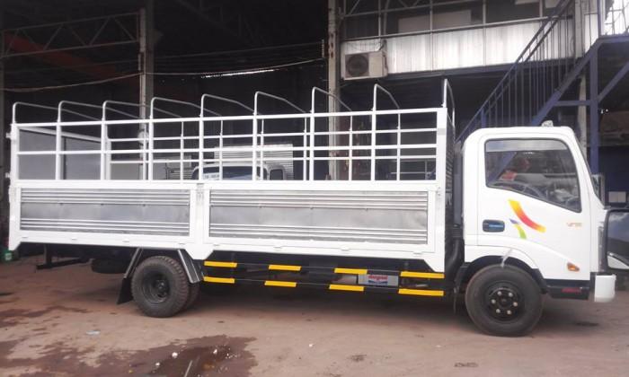 Xe tải veam vt260 1t9 kích thước thùng 6m2 - cabin đầu vuông - kính chỉnh điện