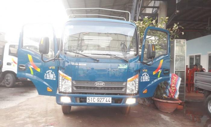 Xe Tải Veam Vt252 2 Tấn 4 - Cabin Đầu Vuông - Thùng Dài 3m85
