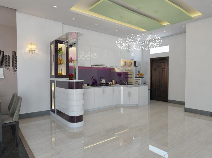 Thi công tủ bếp tại Long Khánh - MTB 02