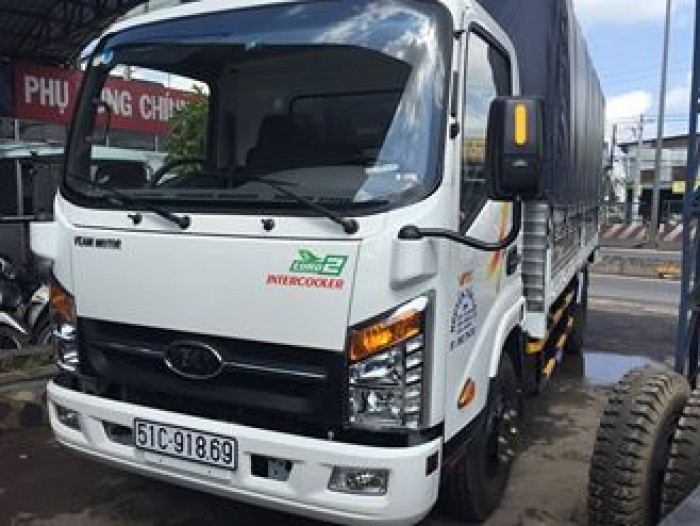 Xe tải veam vt350 3 tấn 5 cabin đầu vuông - kính điện