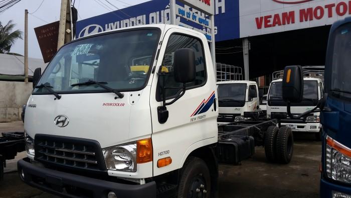 Bán xe tải Huyndai 7 tấn thùng dài 5.2m