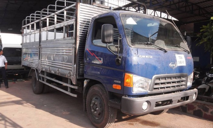 Xe tải hyundai hd800 8 tấn - xe màu xanh giao xe ngay - hỗ trợ ngân hàng ưu đãi 3