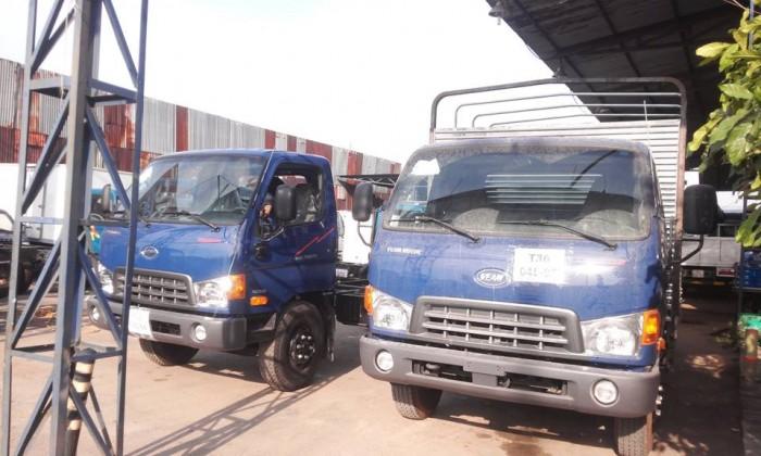 Xe tải hyundai hd800 8 tấn - xe màu xanh giao xe ngay - hỗ trợ ngân hàng ưu đãi 4