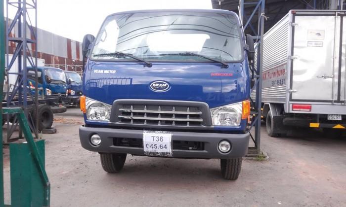 Xe tải hyundai hd800 8 tấn - xe màu xanh giao xe ngay - hỗ trợ ngân hàng ưu đãi 7