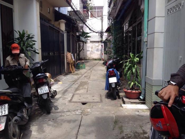 Bán nhà hẻm 3.5m Nguyễn Kiệm, P.4, Phú Nhuận