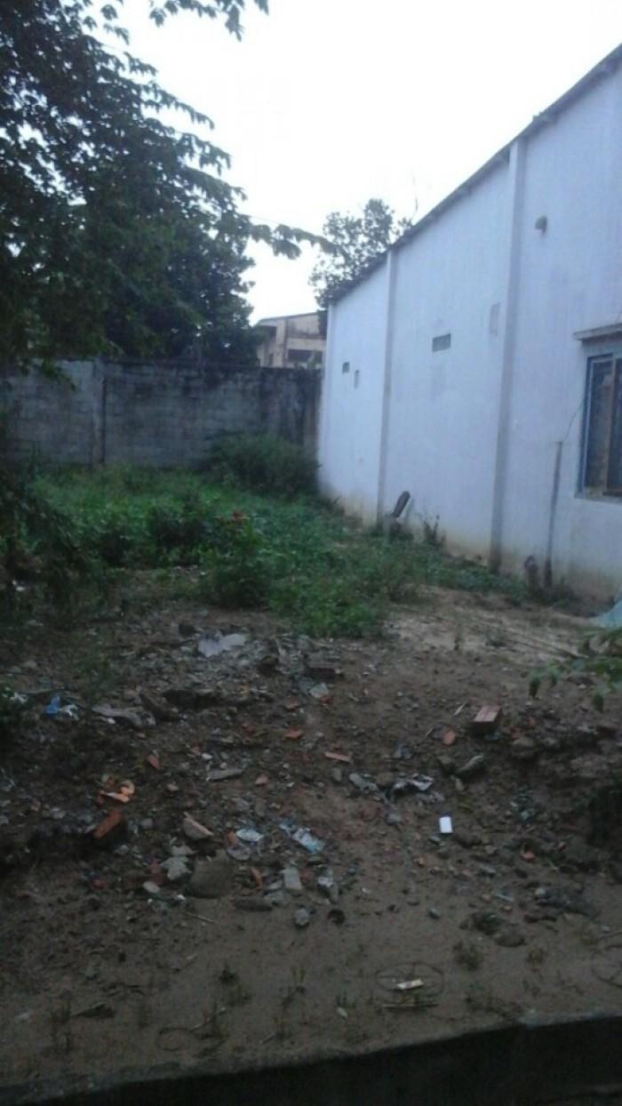 Cần bán gấp đất sau trường THCS Nguyễn Bỉnh Khiêm - Dầu Tiếng - Bình Dương